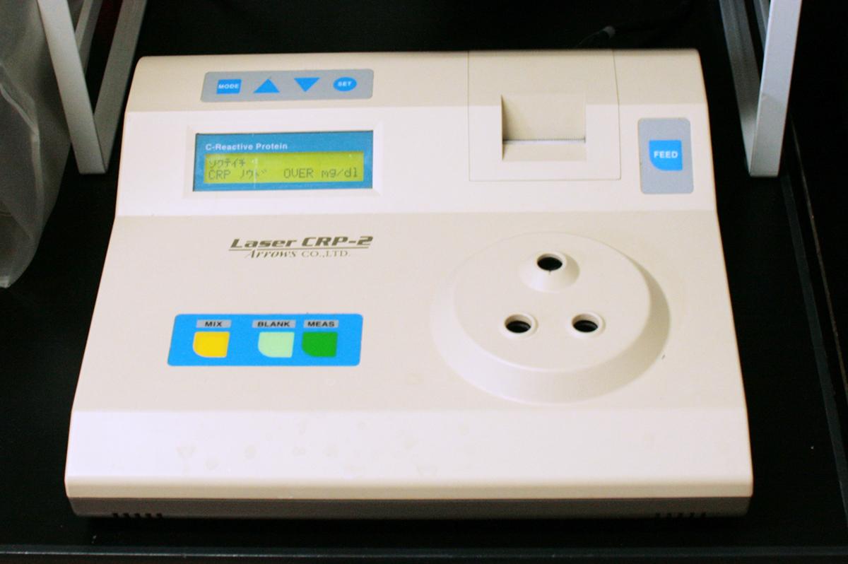 イヌC反応性蛋白濃度測定器